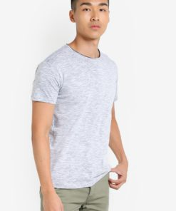 Hamelin Washed Melange T-Shirt by !Solid for Male