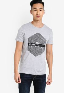 Harris Graphic T-Shirt by !Solid for Male