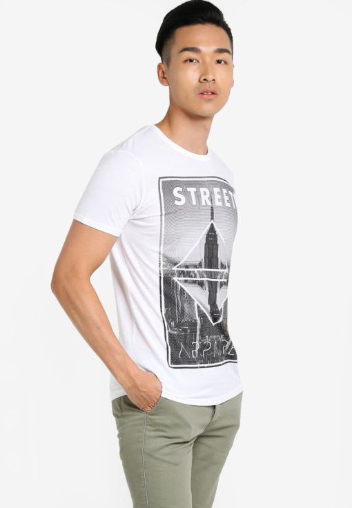 Harland Graphic T-Shirt by !Solid for Male