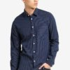 Hanif Mini Gingham Dotted Shirt by !Solid for Male