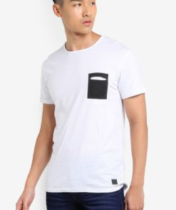 Hannu Pocketed T-Shirt by !Solid for Male