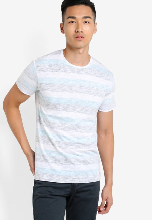 Ham Striped T-Shirt by !Solid for Male