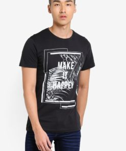 Haroun Graphic T-Shirt by !Solid for Male
