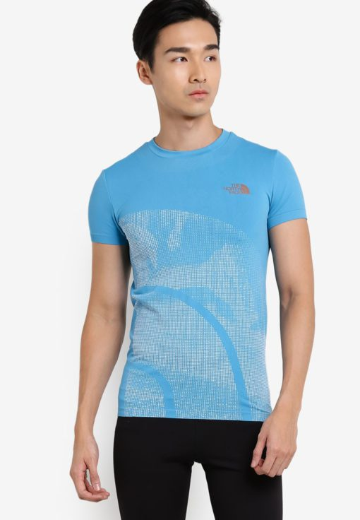 Short Sleeve Knit Tee by The North Face for Male