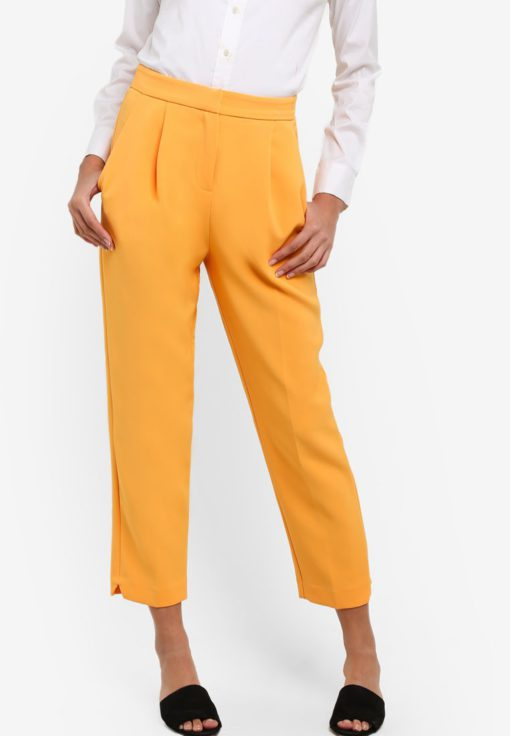 Split Hem Peg Trousers by TOPSHOP for Female