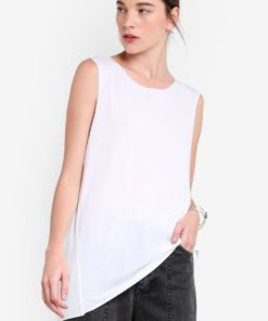 Acid Wash Tank Top by TOPSHOP for Female