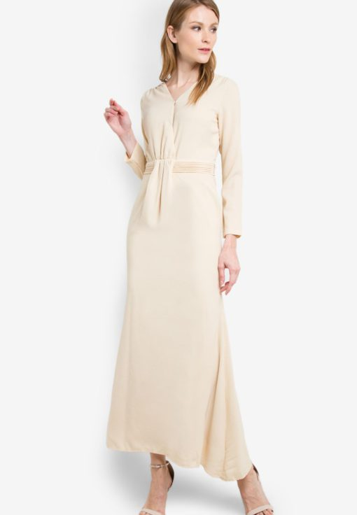 Adele Wrap Dress by VERCATO for Female