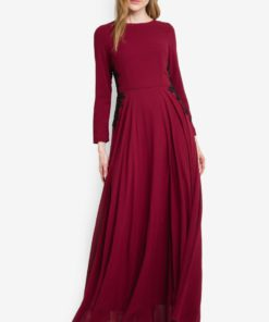 Gabriell Chiffon Maxi Dress by VERCATO for Female