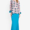 Midi Kurung Peplum Kebaya by Zuco Fashion for Female